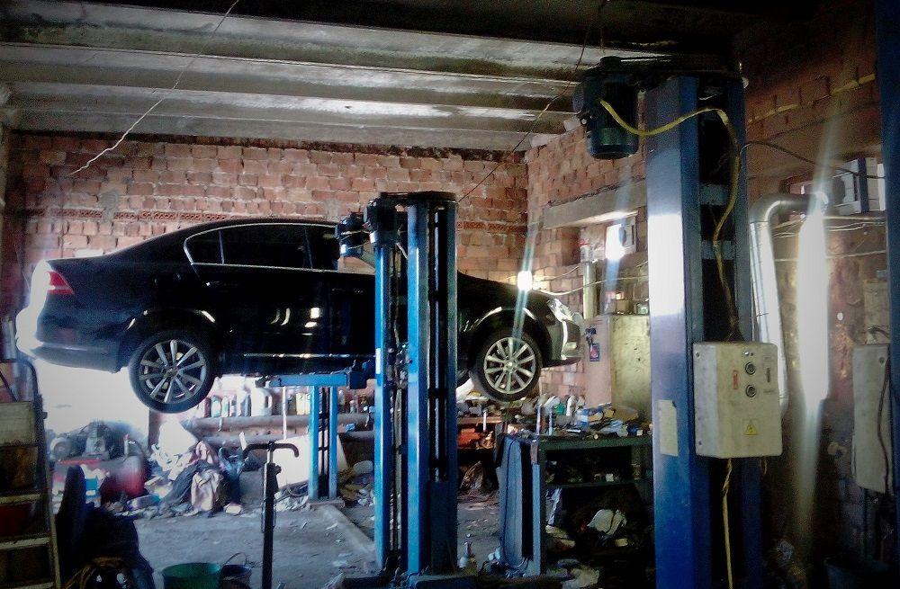 Автосервис в гараже