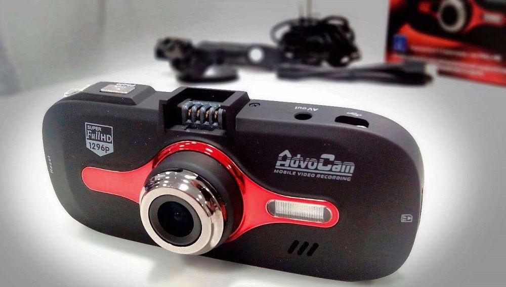 Бюджетный видеорегистратор AdvoCam FD8 Red-II