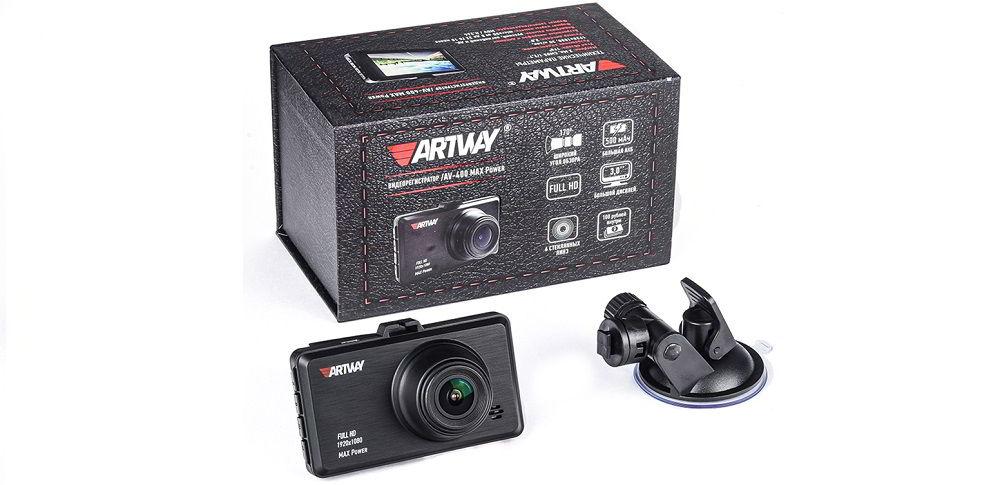 Бюджетный видеорегистратор Artway AV-400 MAX Power