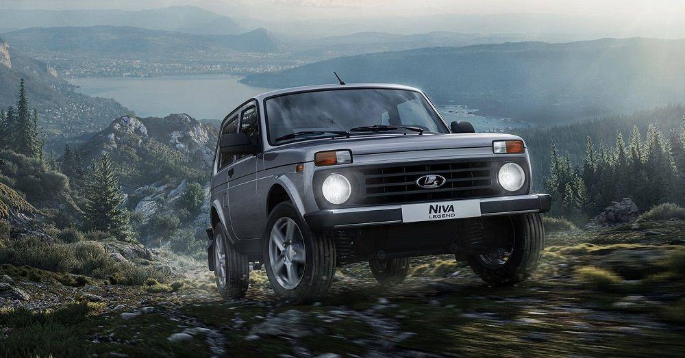 Бюджетный внедорожник Lada Niva Legend