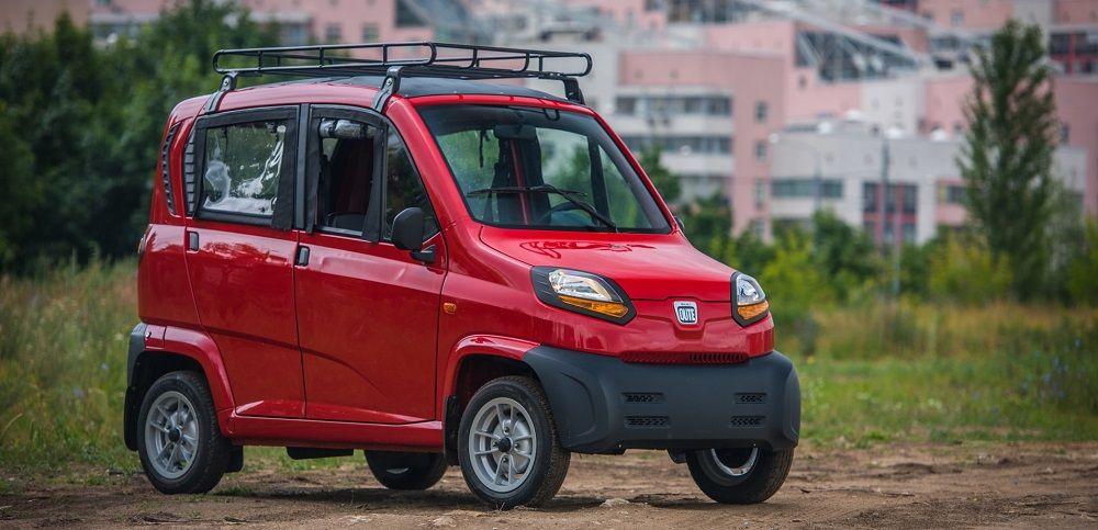Дешёвый автомобиль Bajaj Qute