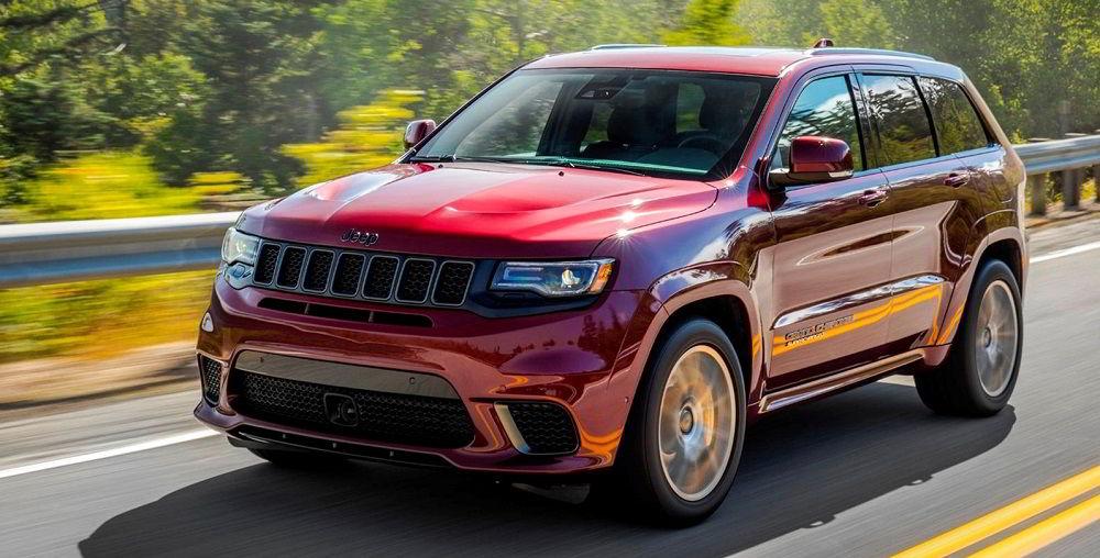 Экономичный внедорожник Jeep Grand Cherokee