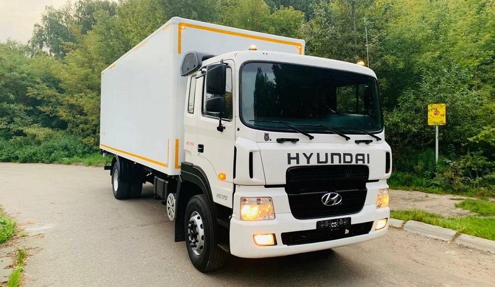 Грузовик для заработка Hyundai HD170