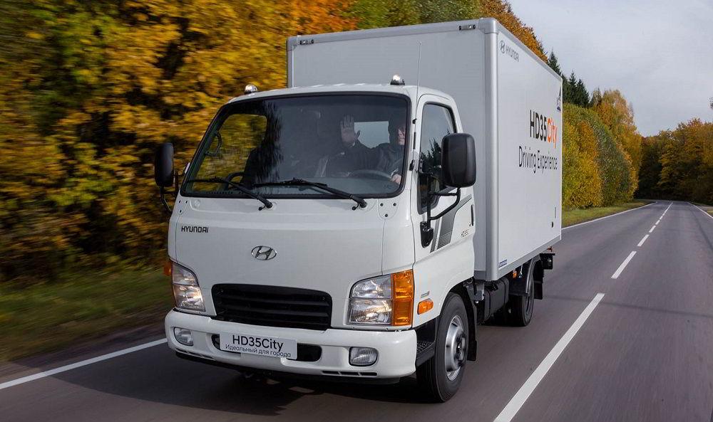 Грузовик для заработка Hyundai HD35