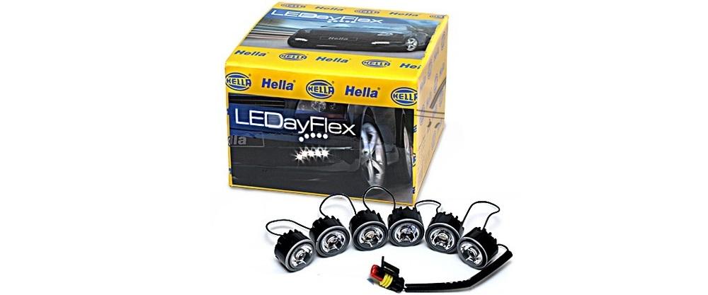 Ходовые огни Hella LEDay Flex 6