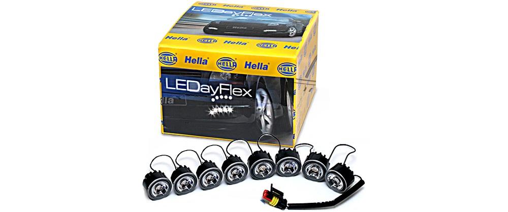 Ходовые огни Hella LEDay Flex 8