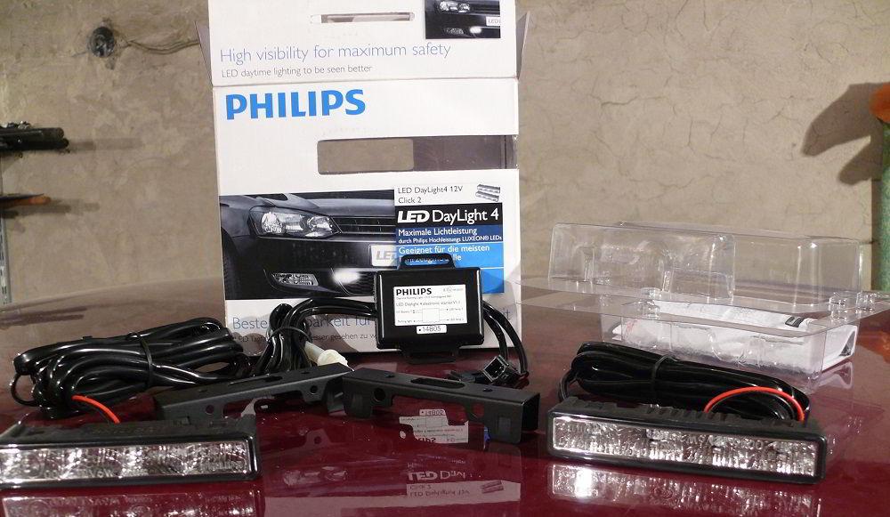 Ходовые огни Philips DayLight 4