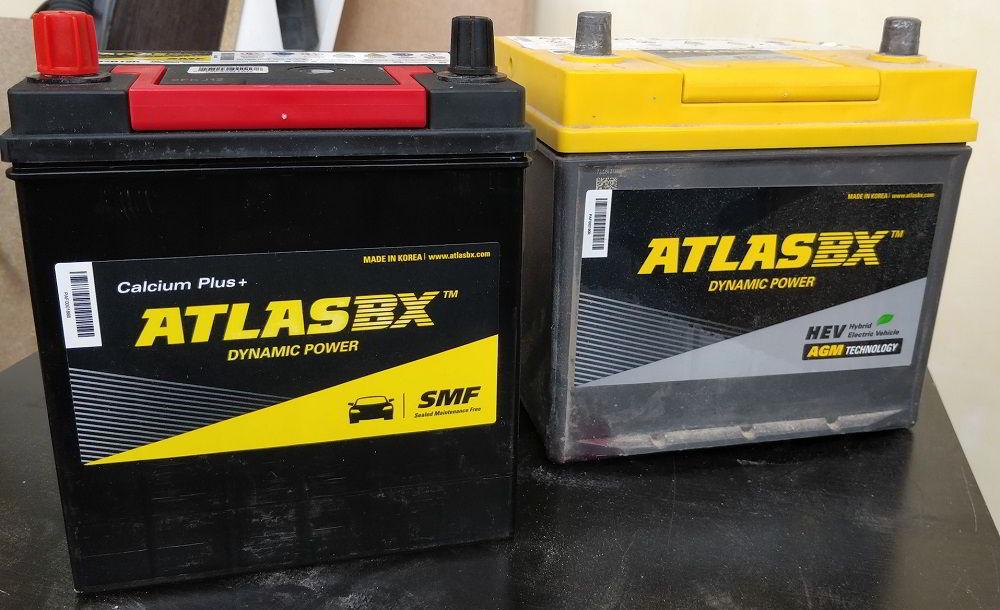 Корейские аккумуляторы AtlasBX