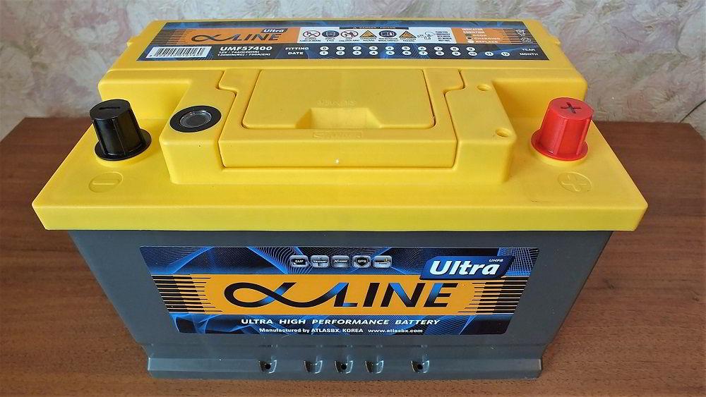 Корейский аккумулятор AlphaLine