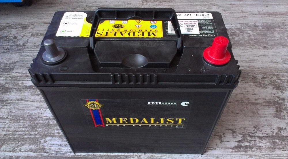 Корейский аккумулятор Medalist