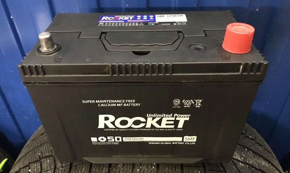Корейский аккумулятор Rocket