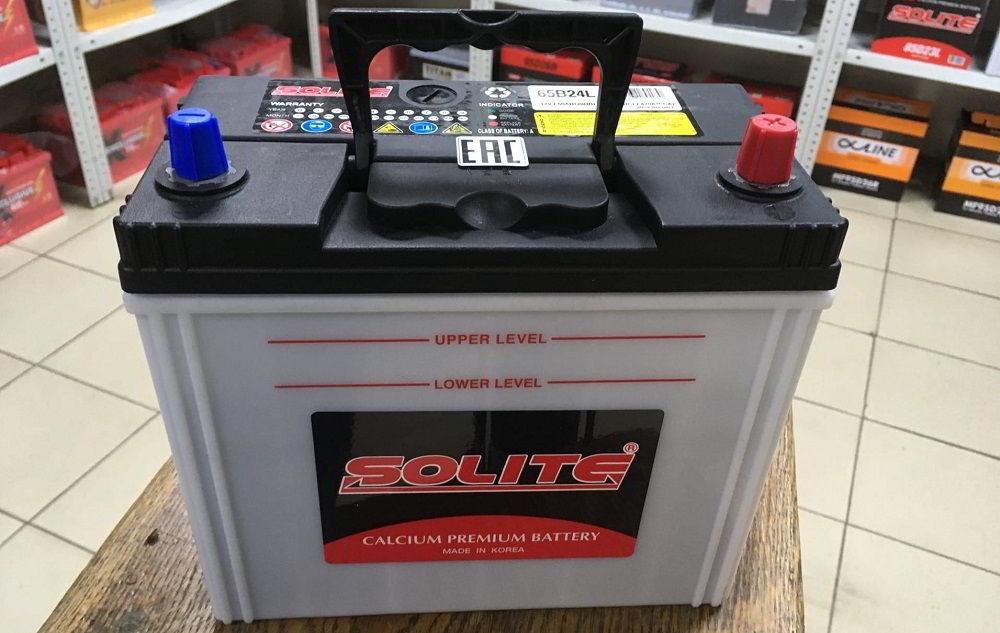 Корейский аккумулятор Solite