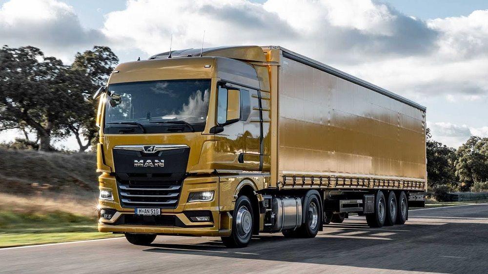 Лучший грузовик в мире MAN TGX
