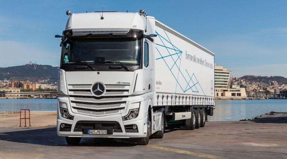 Лучший грузовик в мире Mercedes-Benz Actros