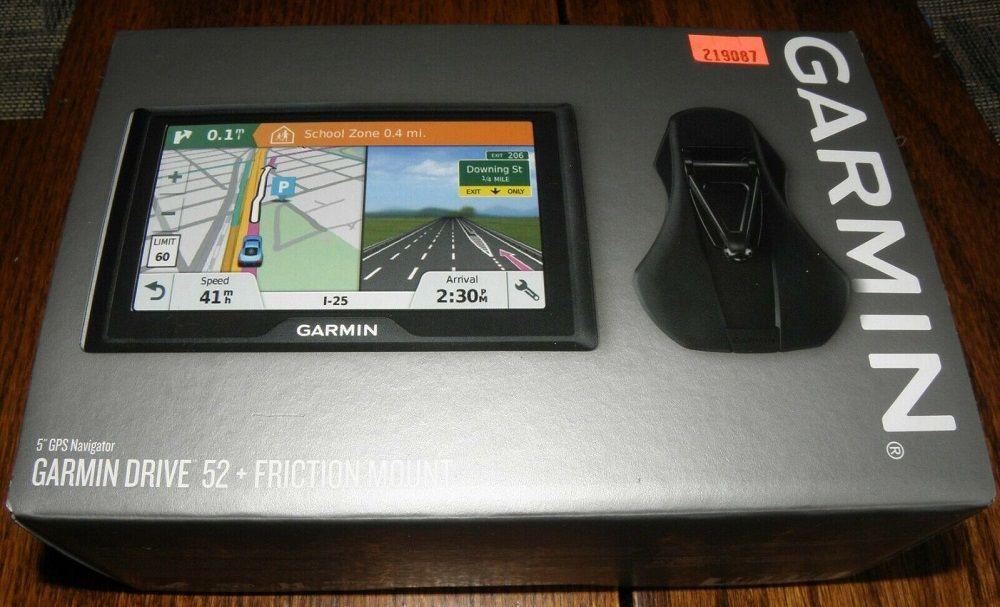 Лучший навигатор Garmin Drive 52 Rus MT
