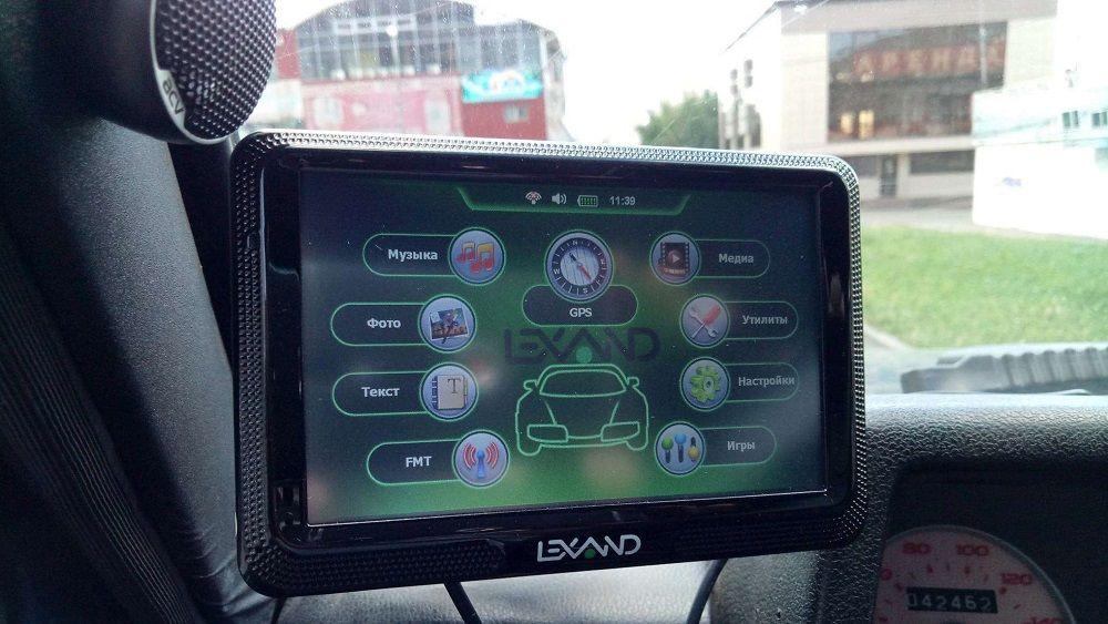 Лучший навигатор Lexand Click&Drive CD5 HD Прогород
