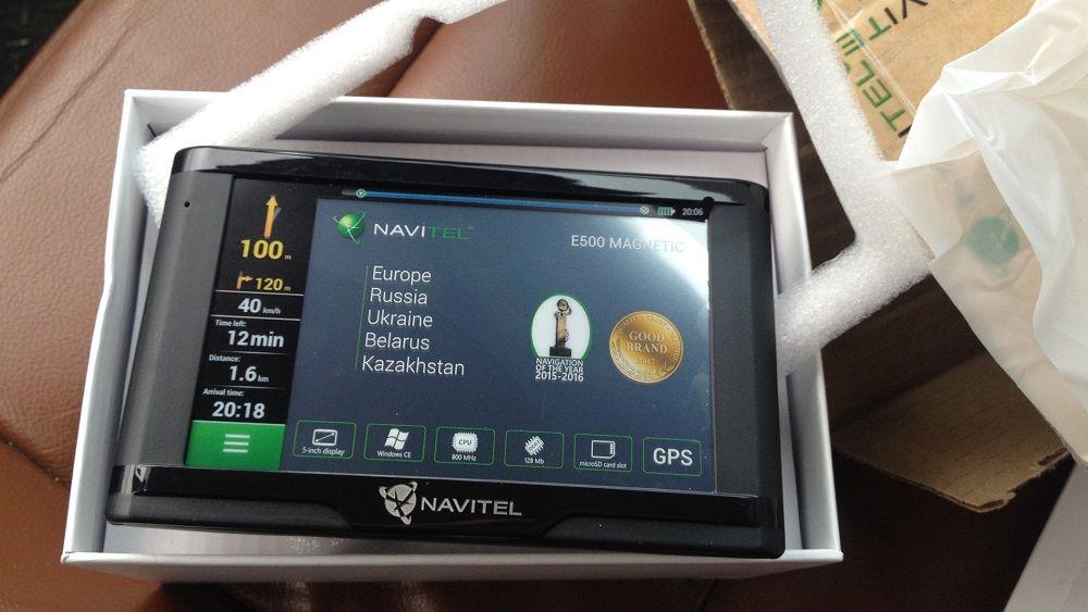 Лучший навигатор Navitel E500 Magnetic