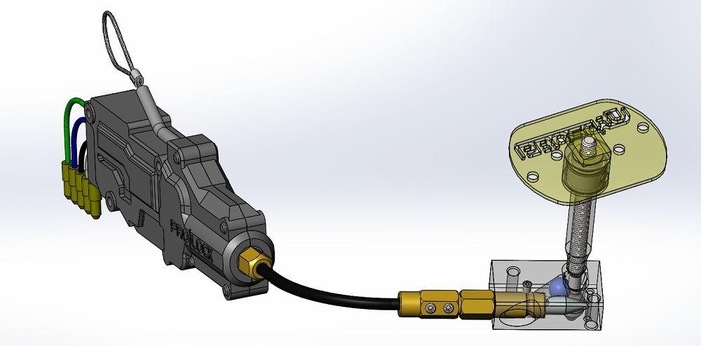 Механическое средство защиты блокиратор капота
