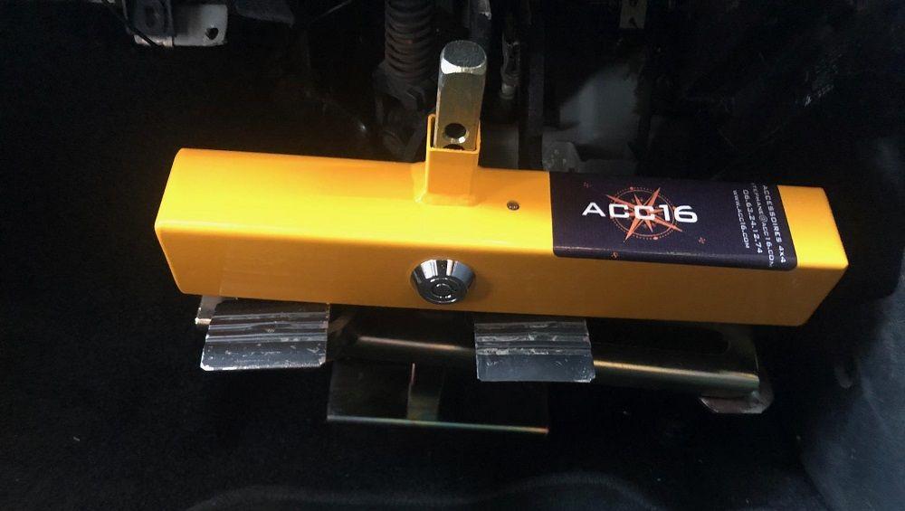 Механическое средство защиты замок на педали