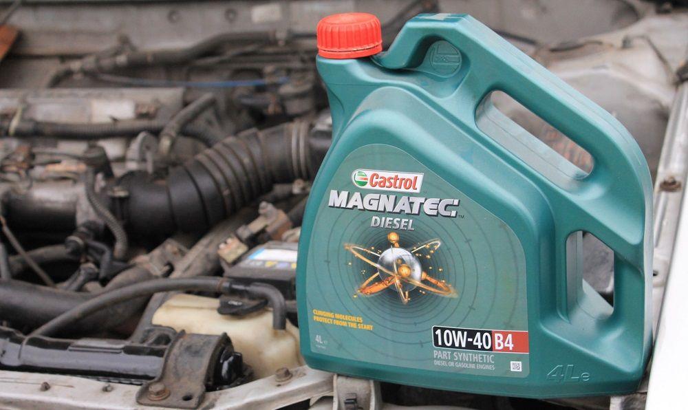 Моторное масло 10W40 Castrol Magnatec