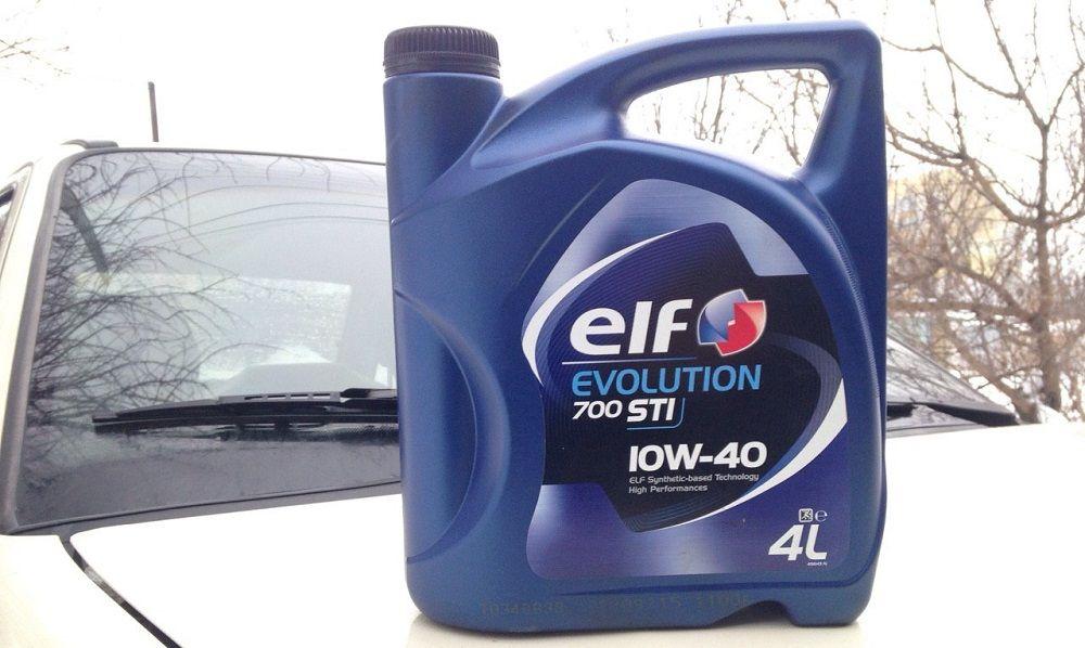 Моторное масло 10W40 Elf Evolution 700 STI