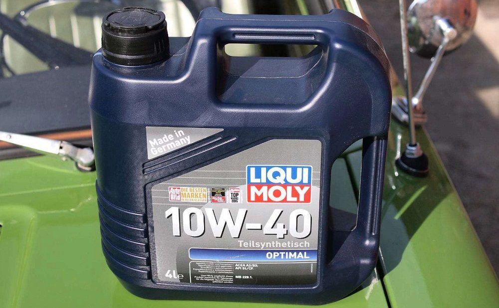 Моторное масло 10W40 Liqui Moly Optimal