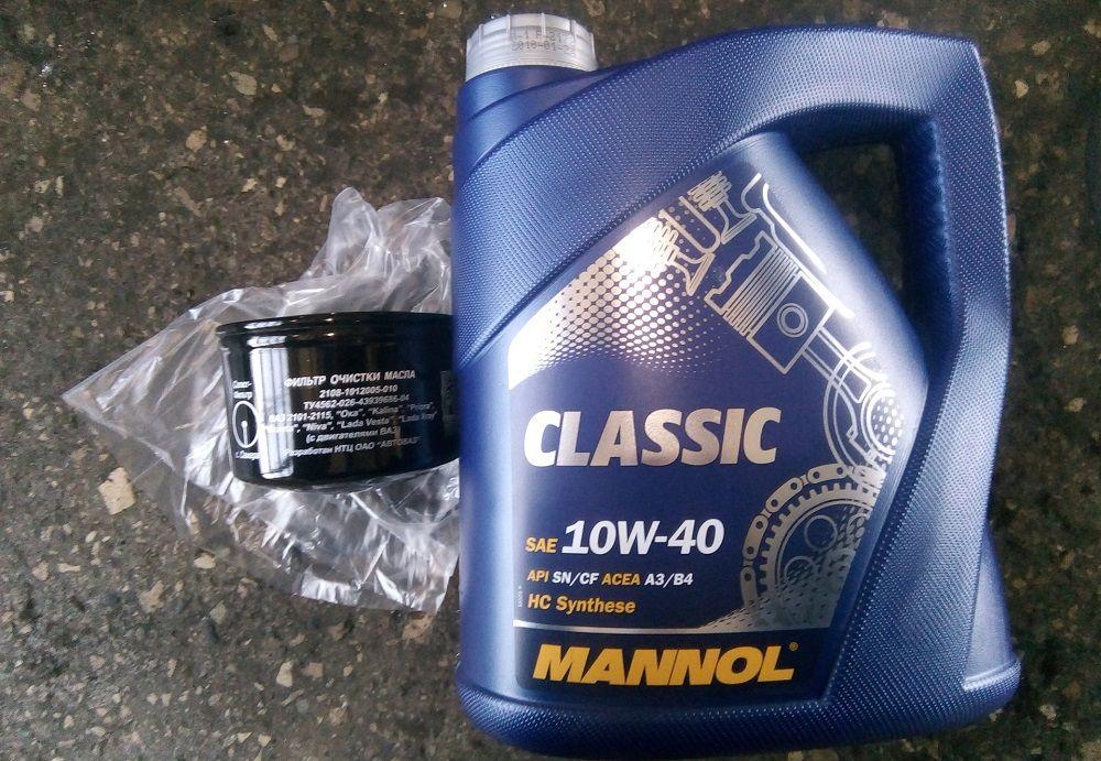 Моторное масло 10W40 Mannol Classic