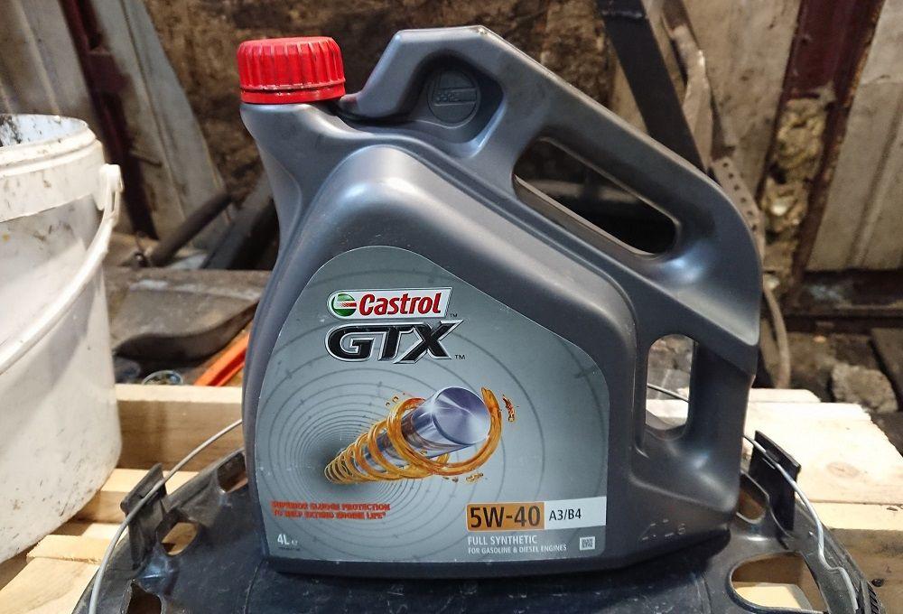 Моторное масло Castrol GTX