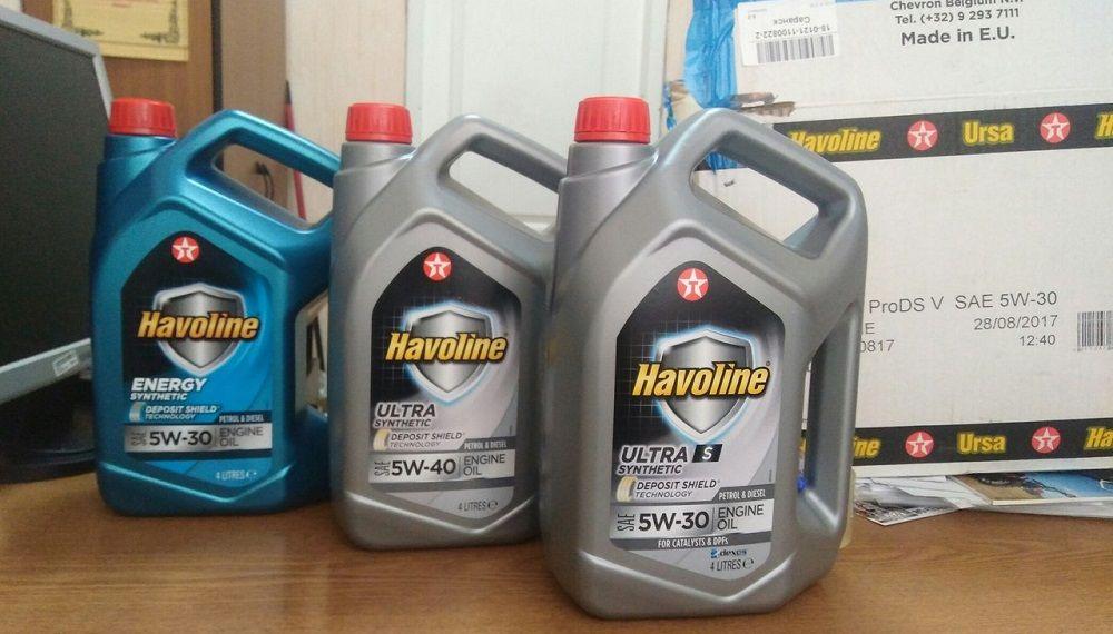 Моторное масло Havoline Deposit Shield