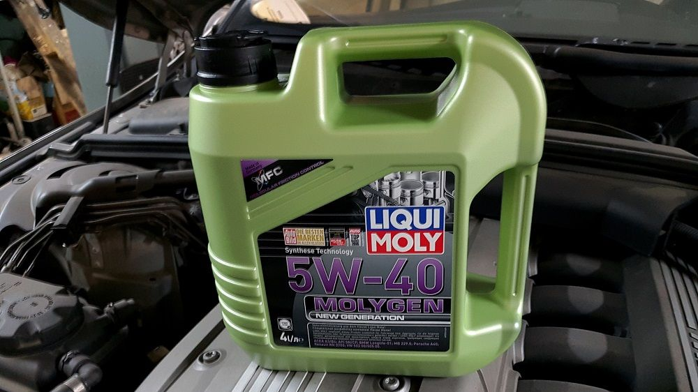 Моторное масло Liqui Moly Molygen New Generation
