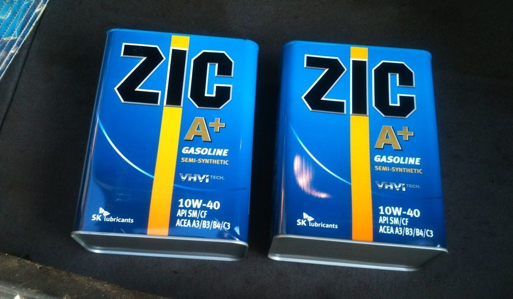 Моторное масло ZIC A+ Gasoline VHVI
