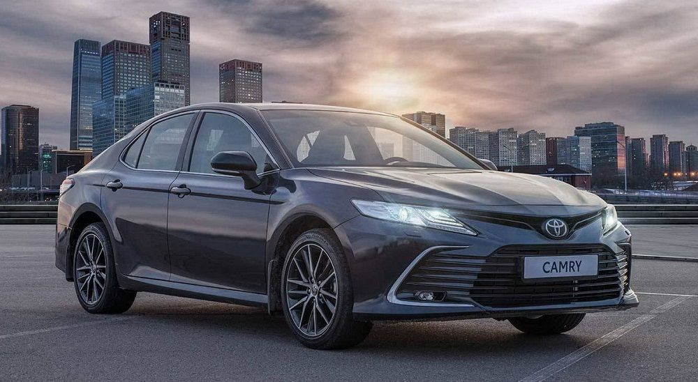Надёжный автомобиль для России Toyota Camry
