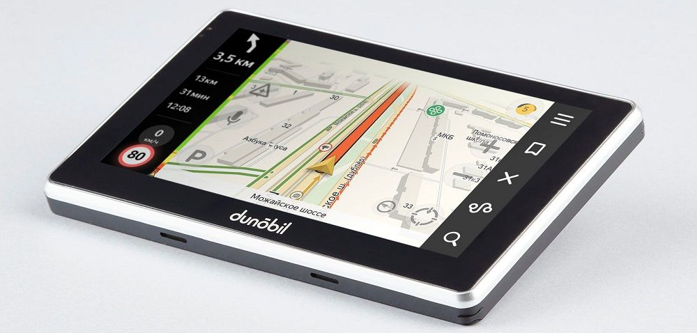Навигатор для грузовика Dunobil Consul 7.0 Parking Monitor
