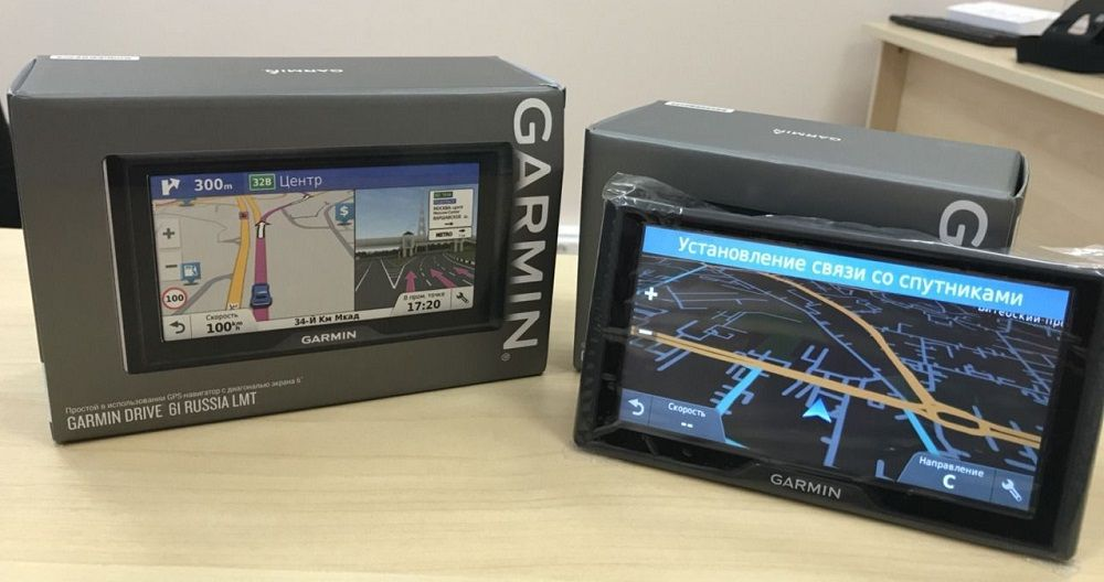 Навигатор для грузовика Garmin Drive 61 Rus LMT