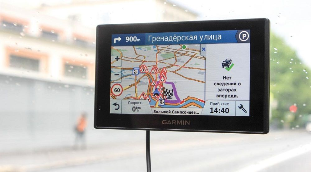 Навигатор для грузовика Garmin DriveSmart 51 Rus LMT