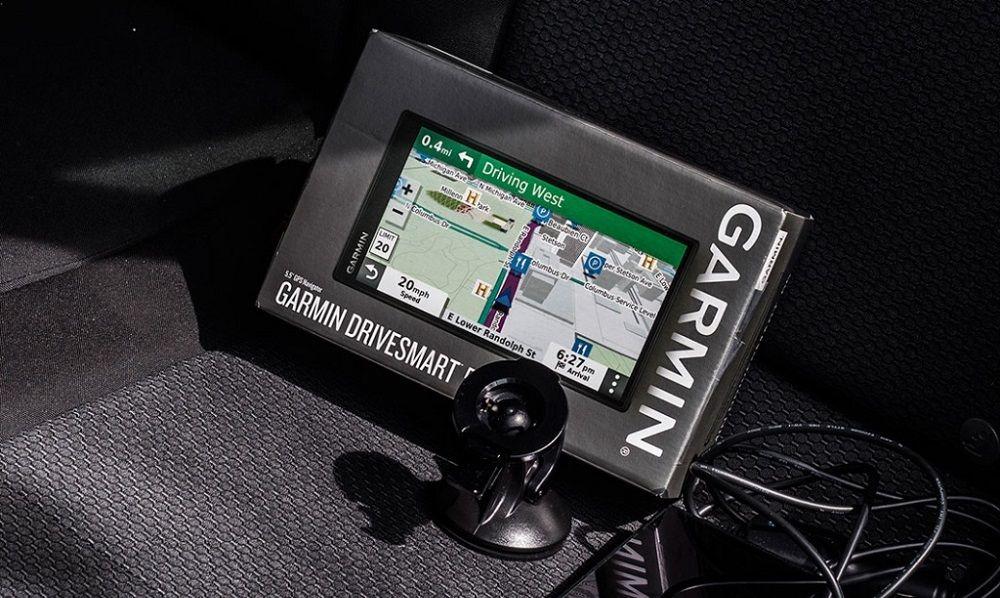 Навигатор для грузовика Garmin DriveSmart 55 Rus MT