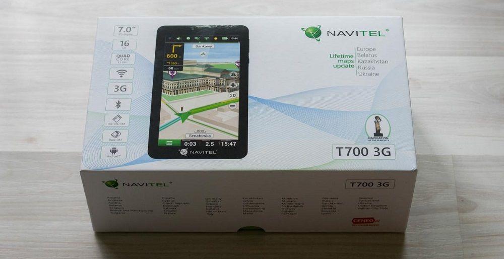 Навигатор для грузовика Navitel T700 3G