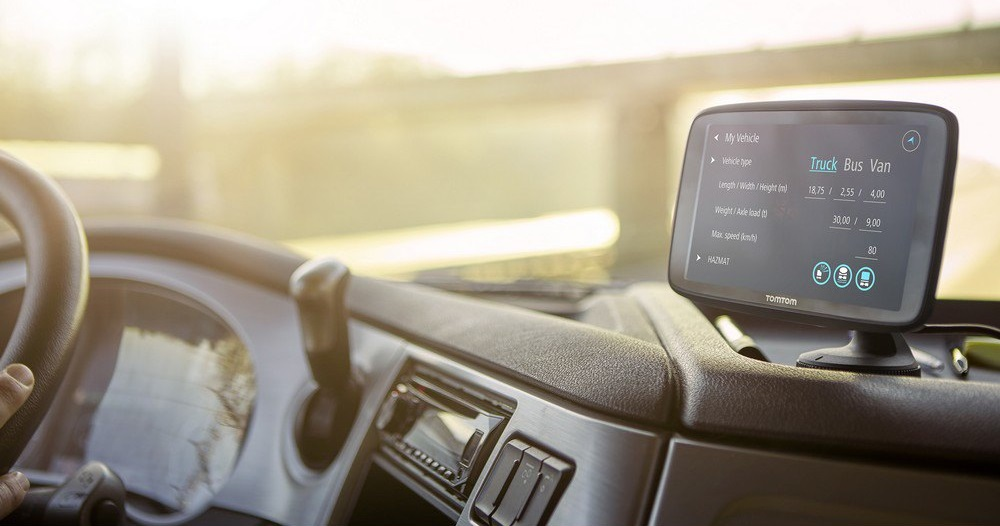 Навигатор для грузовика TomTom Go Professional 6200
