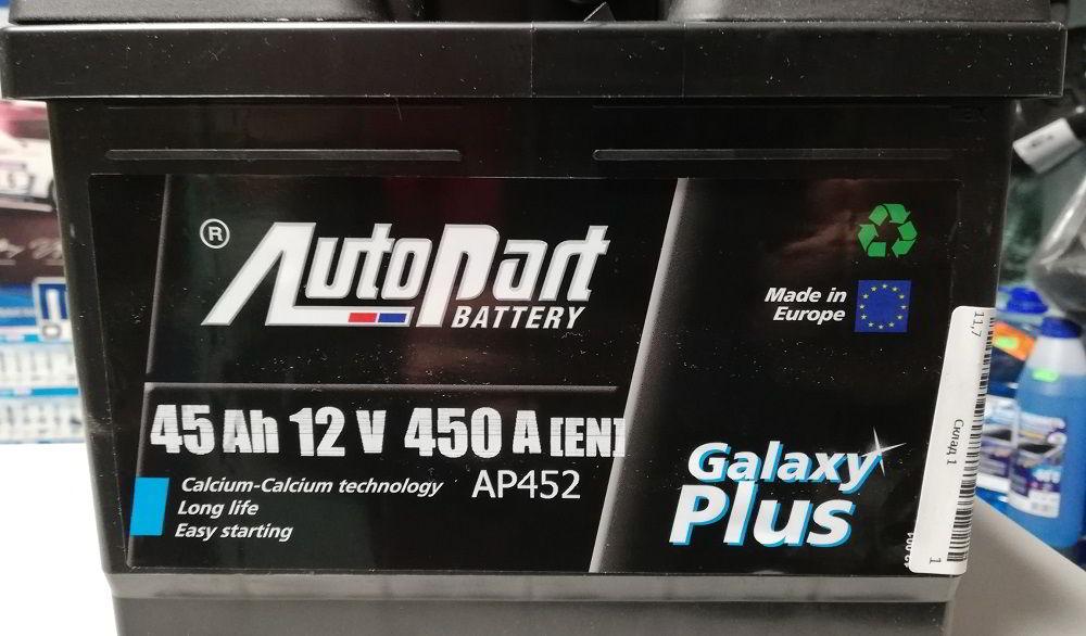 Польский аккумулятор Autopart