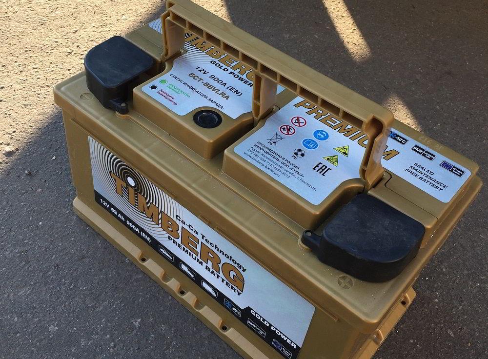 Польский аккумулятор Timberg Gold Power