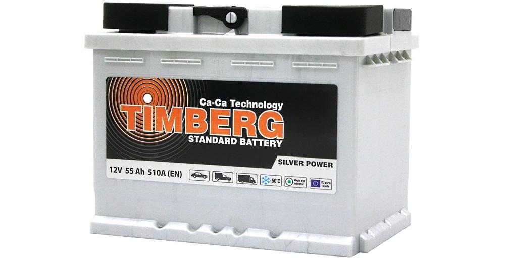Польский аккумулятор Timberg Silver Power