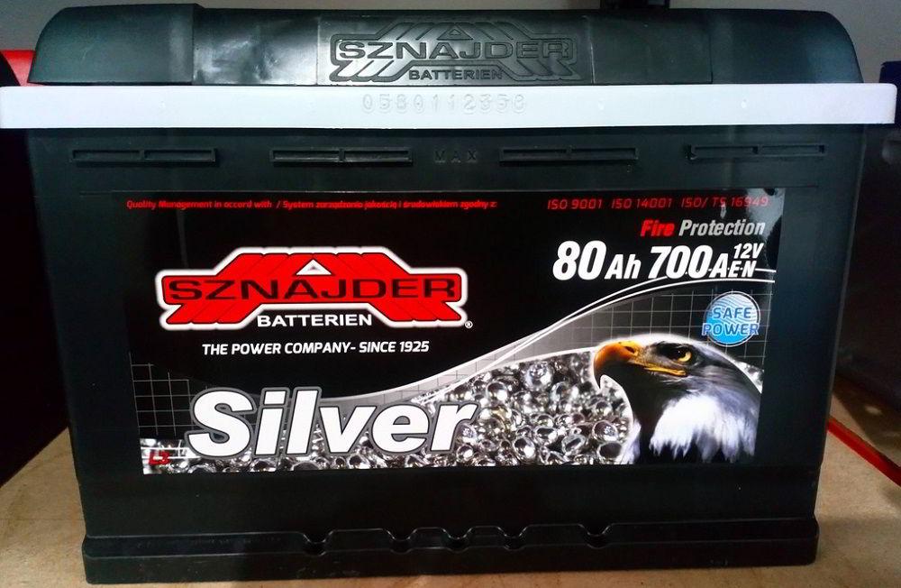 Польский аккумулятор ZAP Sznajder Silver