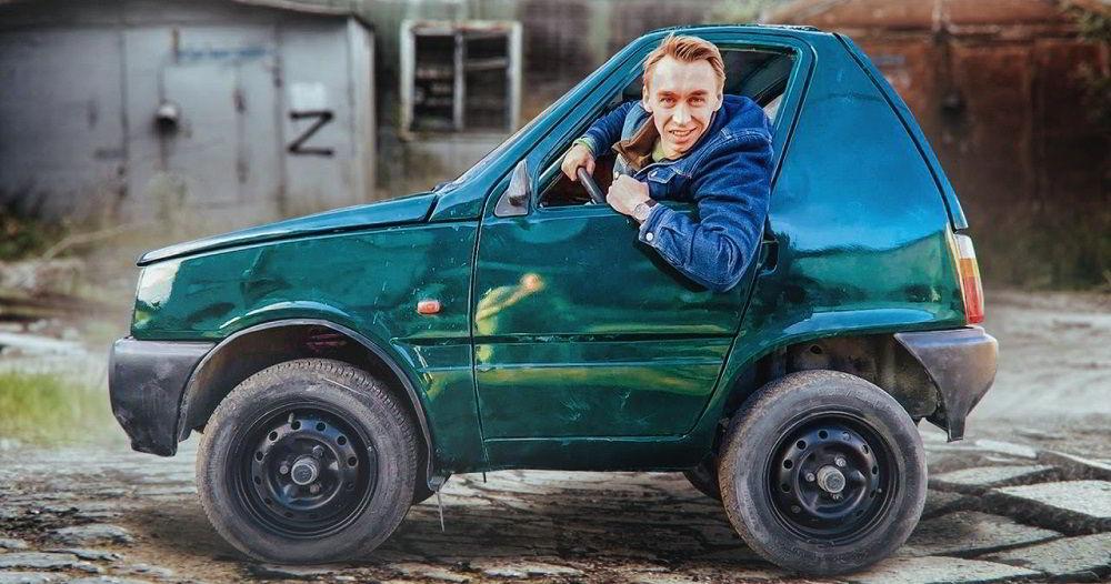 Популярный автоблогер Илья Стрекаловский