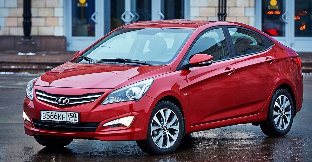 Популярный автомобиль с пробегом Hyundai Solaris I Рестайлинг