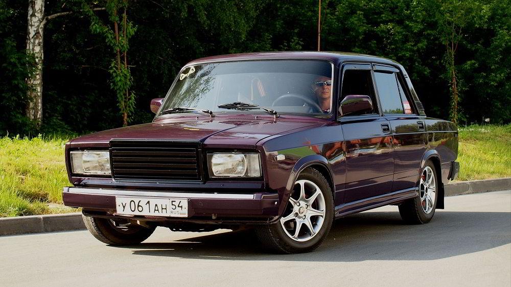 Популярный автомобиль с пробегом ВАЗ 2107