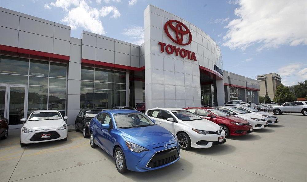 Популярный автопроизводитель Toyota Group