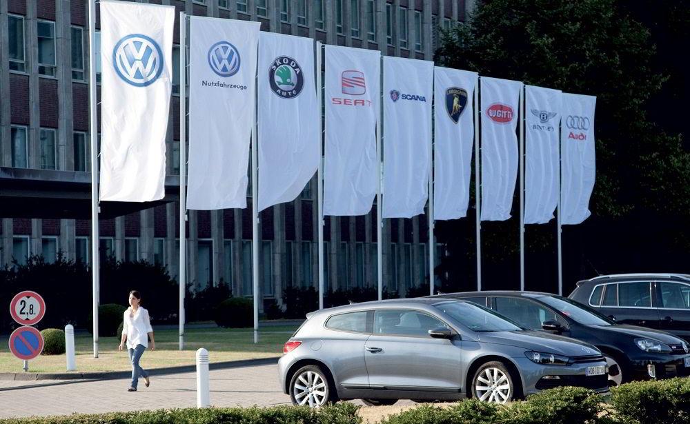 Популярный автопроизводитель Volkswagen Group