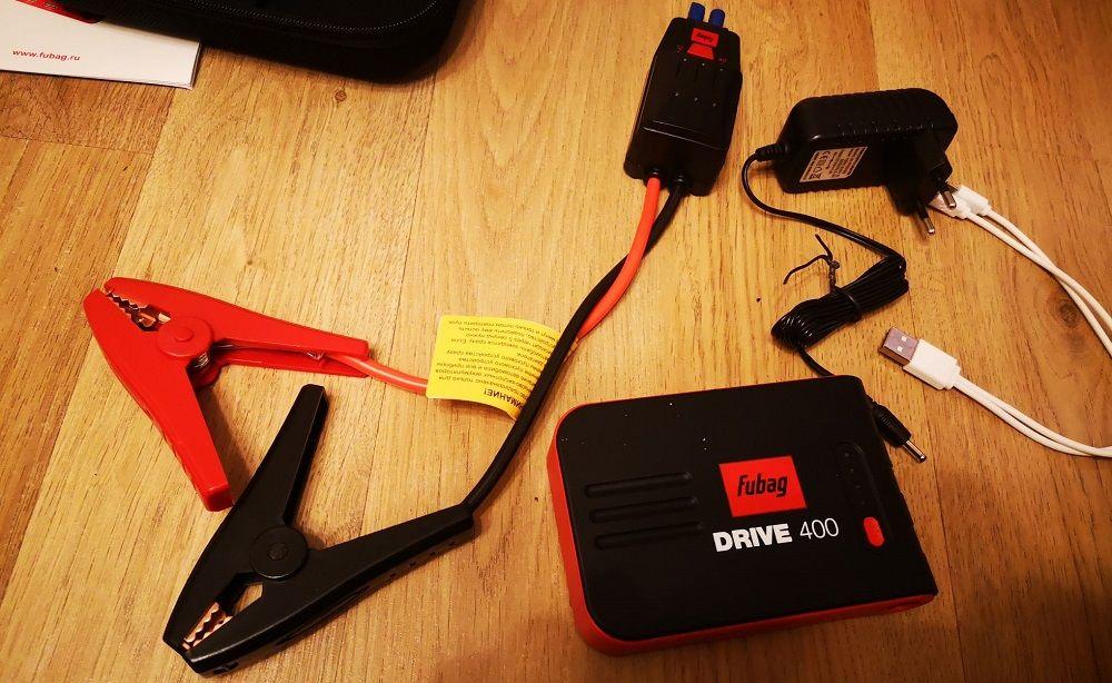 Пуско-зарядное устройство Fubag Drive 400