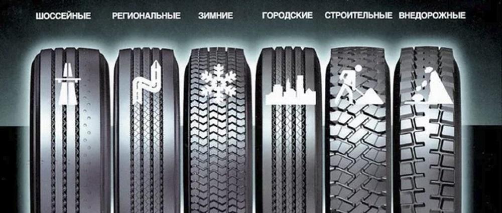 Разновидности шин для авто