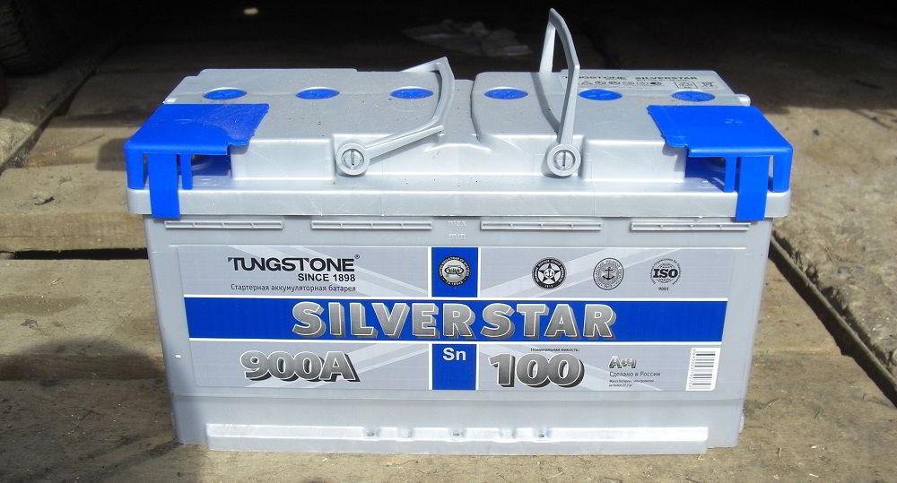 Российский аккумулятор Tungstone SilverStar